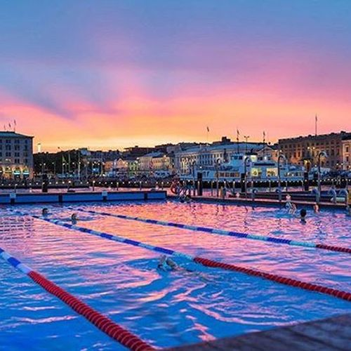 Wondering about an interesting experience in Helsinki? 🤔How about swimming on the open air? Sounds cold?🥶 Not in @allasseapool where heated pool decks are floating on top of the sea 🌊 Warm water pool with t+27 is perfect for everyone; sea water pool with t+1 currently with cleaner currents water for teasing you and children's pool for small ones are waiting for new guests 🙂 Oh, have we mentioned that there are saunas as well? ☺️Allas Sea Pool oasis is located in only 10 min from hotel Fabian 👌🏼 • 📷: @allasseapool ⠀ • #hotelfabian #wedontmindifyoustaylonger #fabianrecommends