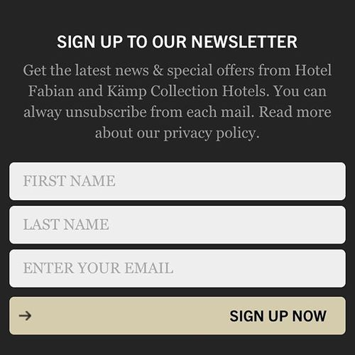 How about special Fabian offers just for you? Sounds attractive? Sign up to become Fabian friend and you'll get all best exclusive offers first! Follow the link in bio to our webpage to join us 🙂 • #hotelfabian #wedontmindifyoustaylonger #newslettersubscription