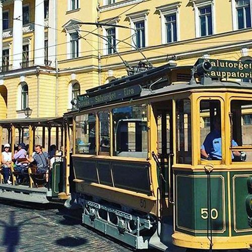 Have you already had a ride on this beautiful authentic vintage tram? 🚃You still have time for it until the end of August! Tram departures every 30 min on Saturdays and Sundays☀️ ⠀ •⠀ 📷credit to @myhelsinki ⠀ •⠀ #helsinki #vintagetram #wedontmindifyoustaylonger